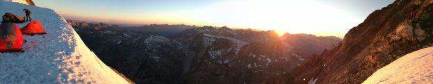 Vigne puesta sol